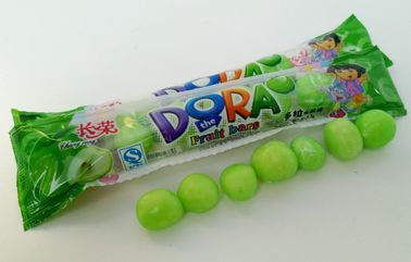 Cina Green Bubblegum Chewing Gum, Dora Multi Fruit Flavour Bar In Bags pabrik