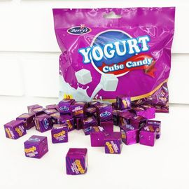 50pcs Cube Shaped Candy / yogurt rasa permen susu 2.75g * 50 * 25bags